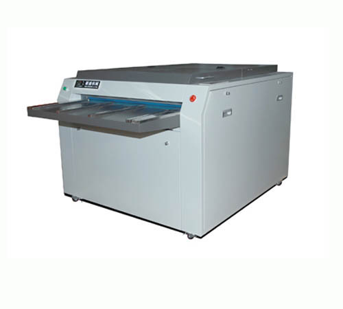 印刷版留版机