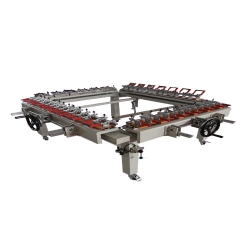 机械式螺杆拉网机